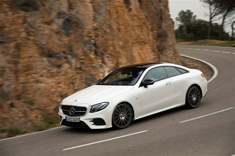 2018 Mercedes Benz E400 Coupe Front Three Quarter In