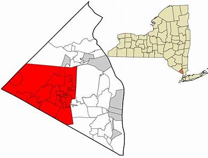 Svg Ramapo Rockland County York Unincorporated Incorporated