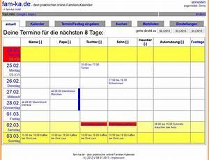 Welche Ssw Berechnen : familienkalender online b rozubeh r ~ Themetempest.com Abrechnung
