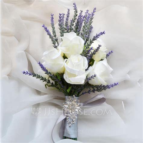 fascinating  form artificial silk bridal bouquets