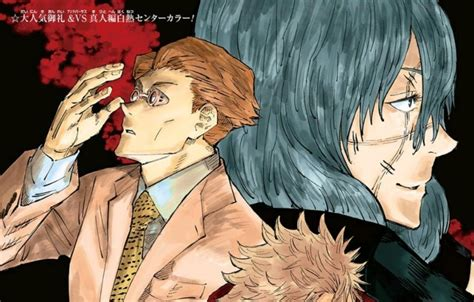 jujutsu kaisen character profiles manga
