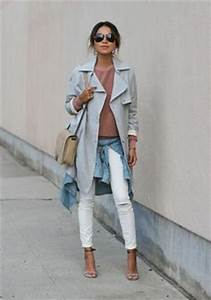 Kaputte Hosen Damen : comment porter le jean blanc dress like a parisian ~ Frokenaadalensverden.com Haus und Dekorationen