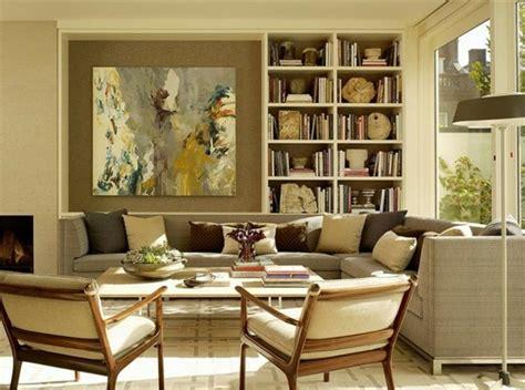 schoene ideen fuer wohnzimmer  beige