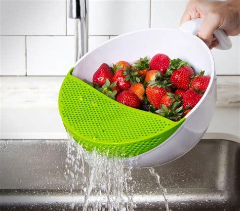 soak  strain food washing bowl