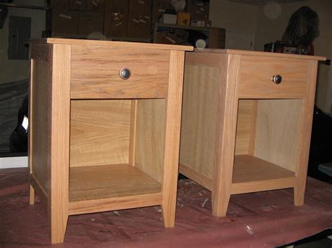 craftsman style nightstands buildsomethingcom