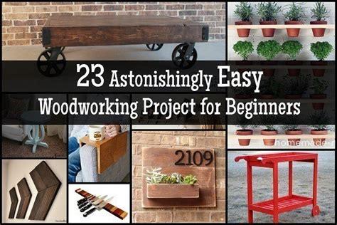 astonishingly easy woodworking project  beginners
