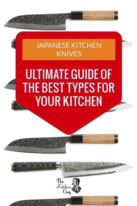 kitchen knives japanese types popular knife most some cooking