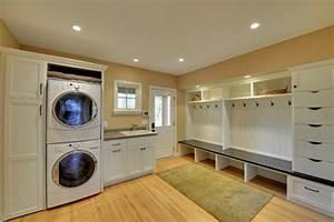 Waschmaschine In Küche Integrieren : 26 zeitgen ssische w schereir ume ~ Markanthonyermac.com Haus und Dekorationen