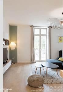 Salon Vert De Gris : une d coration pur e et un look scandinave dans des tons ~ Melissatoandfro.com Idées de Décoration