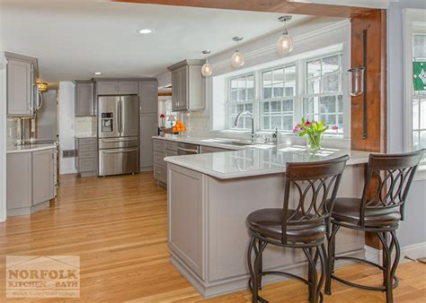 Hingham Gray Kitchen With Quartz Counter Tops & Accessories. Grey Sofa Living Room. Living Room Furniture Ideas For Small Spaces. Orange Living Room Chair. Living Room Chandelier