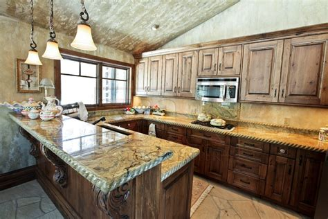 Granite Countertop Ideas by Types Of Granite Countertop Edges Home Ideas Collection