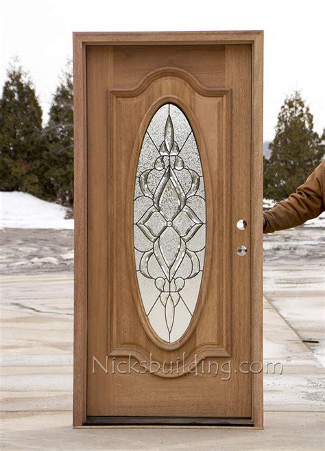 oval glass exterior mahogany doors cl