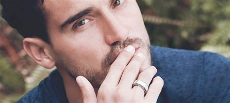 a man s guide to wearing rings fashionbeans