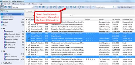 citations  endnote  ms word endnote