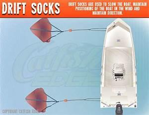 Drift Sock 101 Gear Up Boat Control For Drift Fishing