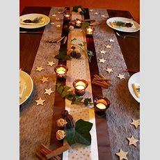 Tischdekoration Weihnachten 6   Tischdeko Weihnachten