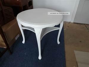 Antike Tische Rund : toller chippendale beistelltisch couchtisch tisch shabby rund wei ~ Frokenaadalensverden.com Haus und Dekorationen