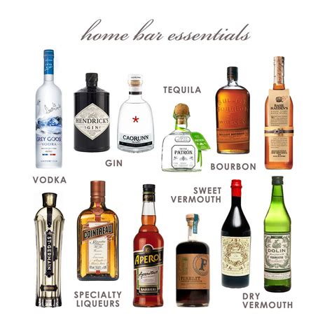 Bar Essentials by My Home Bar Essentials I Would Some Of These That