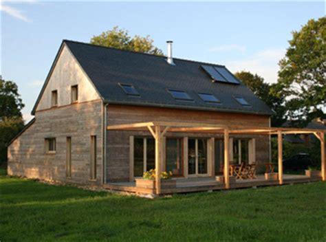 maison en bois ecologique cbe maison ossature bois et eco habitat nantes rennes vannes