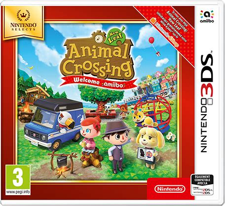 Animal Crossing New Leaf 3ds Console by Animal Crossing New Leaf Welcome Amiibo Nintendo 3ds