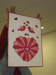 Valentine Dresden Heart Wallhanging
