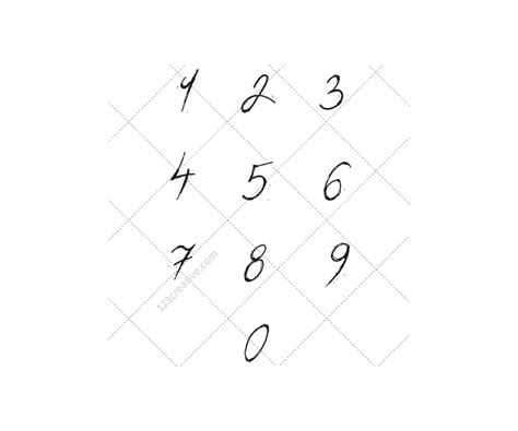 numbers in letters font vector pack use vectors alphabet abc 49848