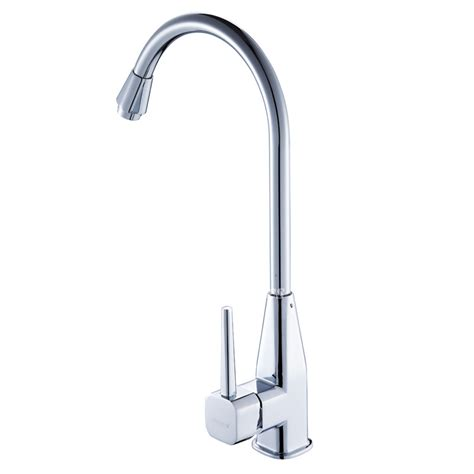discount kitchen faucets rotatable smooth single handle brass