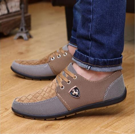 Aliexpress Buy Mens Casual Shoes Canvas