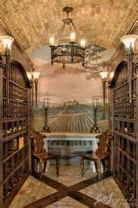 Ceiling Wine Cellar Murals