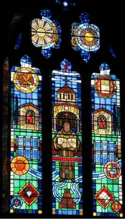 Pargeter Edith Window Benedict Shrewsbury Abbey Ellis