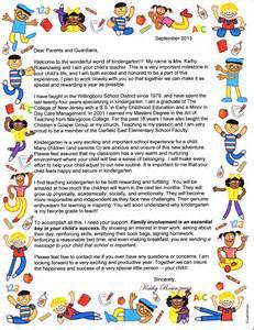 student teacher introduction letter to parents