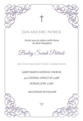 communion invitation templates receiving holy communion free communion invitation template greetings island