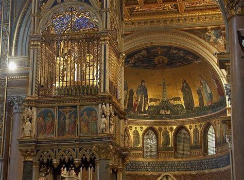interno roma roma interno della basilica di san in laterano