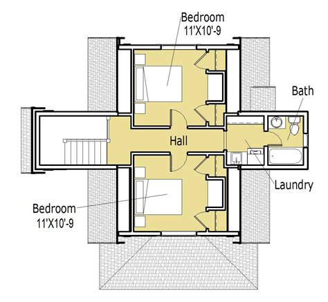 Small Home Plans With Courtyards  Cottage House Plans
