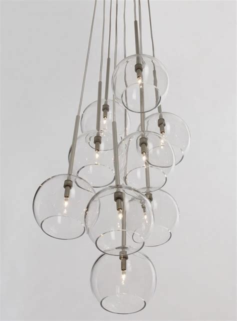 10 easy pieces modern glass globe chandeliers remodelista