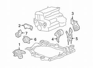 Chevrolet Malibu Engine Mount  Bearings  Motor  Liter