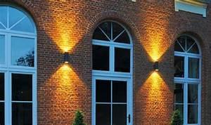 Luminaire Exterieur D Angle : applique d 39 ext rieur enola c up down led noir ip55 ~ Edinachiropracticcenter.com Idées de Décoration