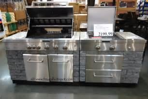 costco kitchen island costco deal kitchenaid 7 burner island grill frugal hotspot