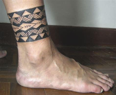 tribal leg band tattoo tribal band tattoo polynesian
