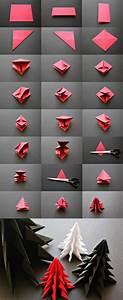 Origami Maison En Papier : origami sapin de noel facile maison design ~ Zukunftsfamilie.com Idées de Décoration