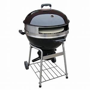 Four A Pizza Weber : landmann 23 in dia pizza kettle charcoal grill 525110 the home depot ~ Nature-et-papiers.com Idées de Décoration