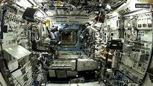 Inside Space Station sound relaxing white noise HD - YouTube