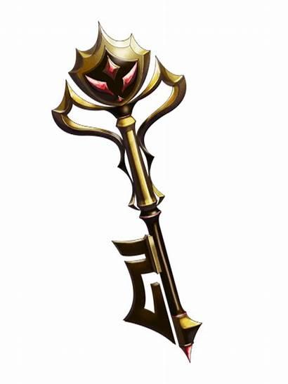 Key Magical Transparent Iron Rpg Mystic Wiz