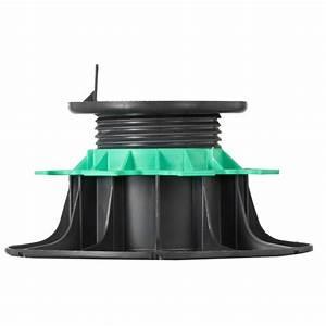 Plot Reglable Terrasse : plot reglable 80 140 mm terrasse lambourdes jouplast ~ Edinachiropracticcenter.com Idées de Décoration