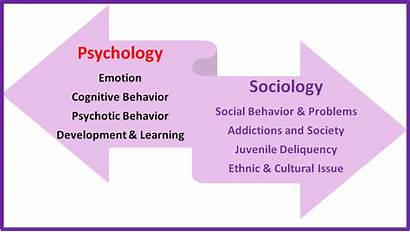 Sociology Between Difference Psychology Psych Degree Vs