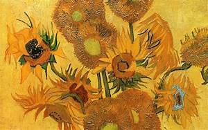 Famous painting of Vincent Van Gogh - Life vase with ...