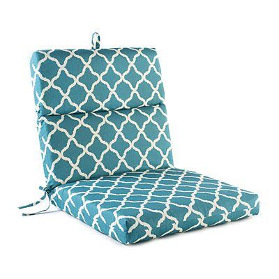 patterned teal nile outdoor chair cushion at big lots