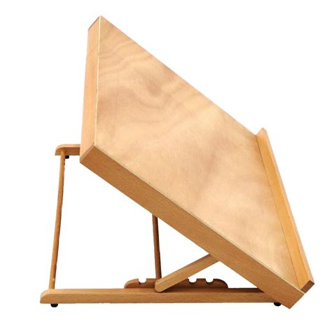 wooden drawing board table canvas workstation sketch