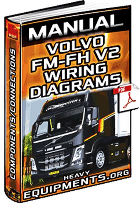 service manual volvo fm fh  trucks wiring diagrams