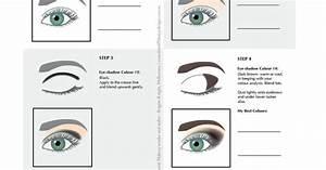 How To Do The Smokey Eye Diagram For Makeup Application